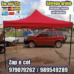 Título do anúncio: TENDA SANFONADA DE FÁCIL MONTAGEM 2X2M E 3X3M
