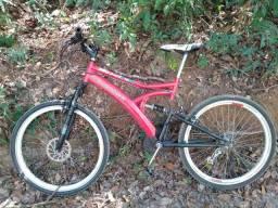 Bicicleta metalFox full suspension downhill aro 26'