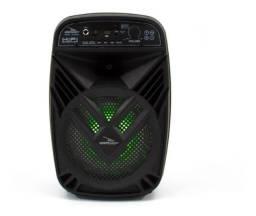 Caixa de Som Bluetooth Rádio com microfone e controle