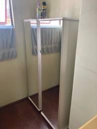 2 sapateiras com porta de espelho - 12 divisorias