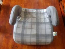 Assento Tutti Baby Safety Comfort - Xadrez Cinza<br>