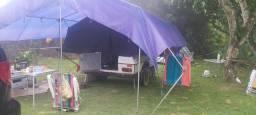 Barraca de camping car