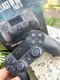 Controle PS4 Sem Fio - The Last pf Us 2 (Edição Limitada)