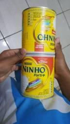 10 latas de leite ninho