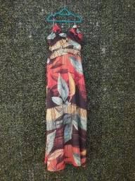 Vestido Longo tamanho P Latoya usado poucas vezes