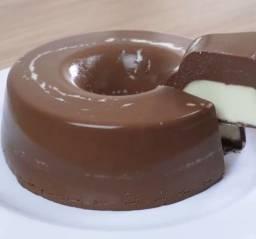 Pudim de chocolate