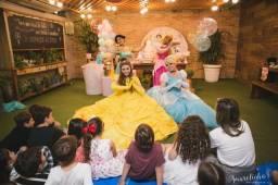 Festa Infantil Animação Bela e a Fera Valente Aurora