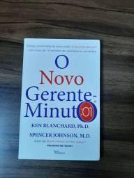 """Livro """"o novo gerente minuto"""" 14 reais"""