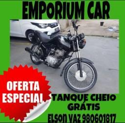 COM MIL DE ENTRADA!! HONDA CG FAN 125 ANO 2010 PEDAL
