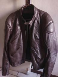 Título do anúncio: Casaco de Couro legítimo para motociclista 54