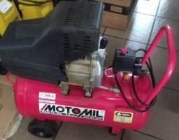 Compressor novo Motomil - 50 litros novo na caixa