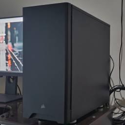 Título do anúncio: Computador De Mesa Completo Potente, Montado, Com Monitor, Gamer e/ou Profissional