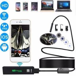 Endoscópia 1200P 5 m Câmera de inspeção IP68 impermeável endoscópio Wi-fi