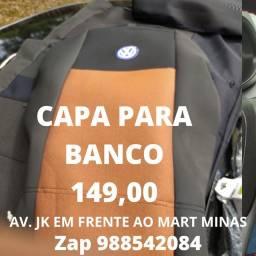 CAPA PARA BANCO DE CARRO UNIVERSAL. R$149.90 AV. JK EM FRENTE AO MART