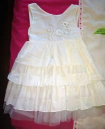 Vestido infantil ( Tam. 4 ) novinho
