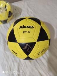Bola de Futevôlei FT-5 Mikasa - Preto+Amarelo
