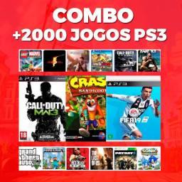 Pacote De 2000 Jogos De Ps Leia A Descrição