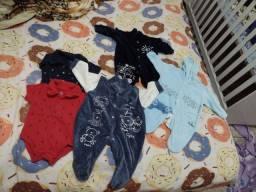 Lote roupa bebê