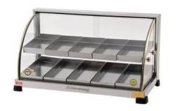 Estufa Para Salgados 10 Bandejas Duplas Ouro Marchesoni - Nova com garantia