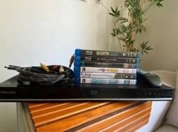 Aparelho Blu Ray + Filmes
