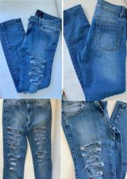 Título do anúncio: Calça jeans nova!