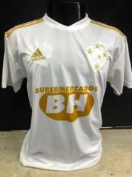 Camisa do Cruzeiro branca centenário nova