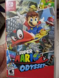 Jogo super Mario odyssey