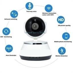 Mini câmera de segurança V380 Hd Wifi Sem Fio