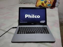 Título do anúncio: Notebook Philco HD 500 RAM 4 GB teclado bom com carregando