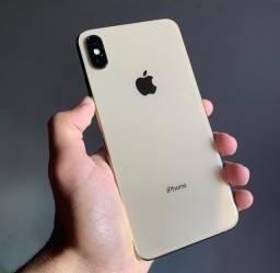 Título do anúncio: Vendo iPhone XS Max Gold impecável