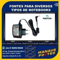 Fonte Notebook Positivo Ponta Fina