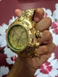 Título do anúncio: Relógio Invicta Thunderbolt Exclusive  gold    promoçao da semana