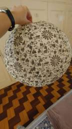 Lanterna chinesa tradicional/luminária de teto