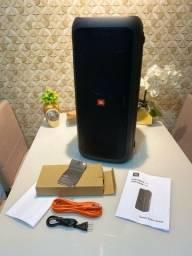 JBL Party Box 200 Caixa de Som Portátil Bluetooth LED USB 120 Wrms Preto