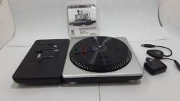 Título do anúncio: Jogo DJ Hero 2 Na Caixa com Mesa