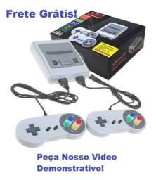 Console Game Super (Mini Sfc) com 620 Jogos - Frete Grátis!