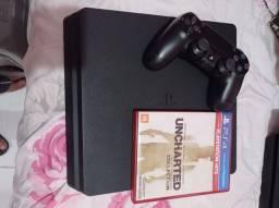 PS4 Slim 500 GB impecável