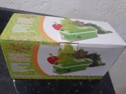 Vendo corte de precisão de legumes