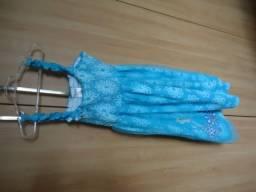 Vestido Fantasia  Elsa Frozen  tam 6/8 anos Comprada na Disney Orlando EUA