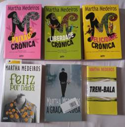 Livros Coleção - Martha Medeiros - 6 livros