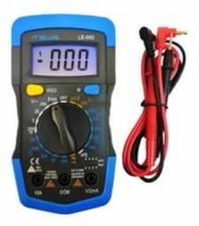 Multímetro Digital Semi Profissional It-Blue LE-982