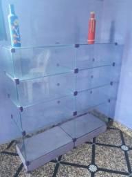 Platereira de vidro