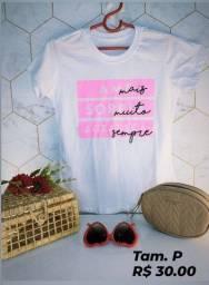 T-shirts Novas a pronta entrega