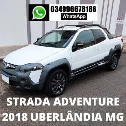 Título do anúncio: Strada Adventure Cabine Dupla (CD) 2018 Uberlândia MG