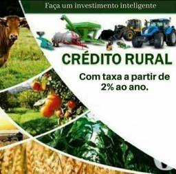 Título do anúncio: CRÉDITO RURAL COM TAXA A PARTIR DE 2% A.A