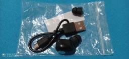 Fone de ouvido Bluetooth 4.1 só um