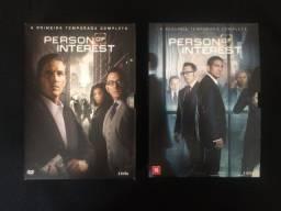 Título do anúncio: DVD Person Of Interest - 1 e 2 Temporada