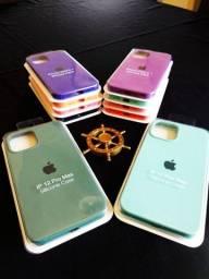 Case Silicone iPhone 12 e 12 Pro