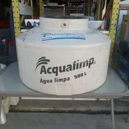 Caixa d' água aqualimp 500 litros.