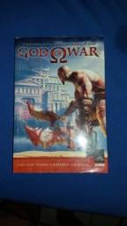 Livro God of War - seminovo